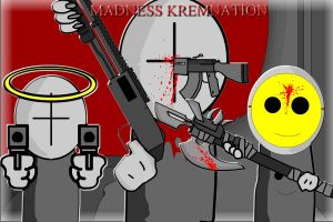 Madness Kremnation - Antagonists by vmlng