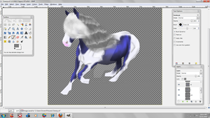cairo wip dressage by patchesofheaven74