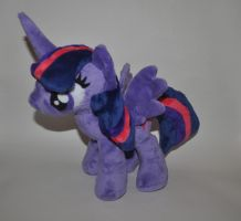 Princess Twilight Sparkle plush by Blindfaith-boo