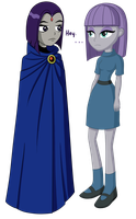 Raven and Maud by TheCheeseburger