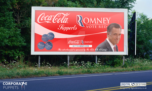 Corporate Puppets - Romney by DigitallyDestined