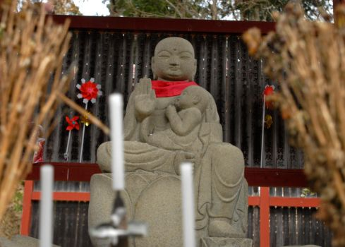 Shinto Temple statue 3 by dkuhn04