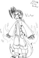 Victor the Raptor by DinyDino9