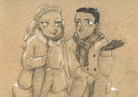 Talk in the Snow by maybelletea
