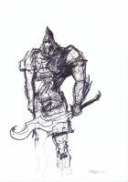 Undead Knight Rough by Brollonks