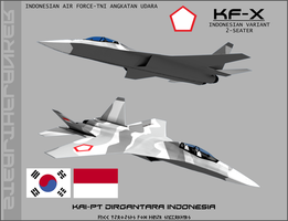 KF-X Indonesian Variant-2 Seater by Stealthflanker