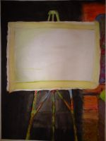 Painting of a Blank Canvas by baani