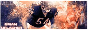 Brian Urlacher SIGN by xdeviN