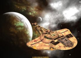 Cardassian Cruiser by Cyborgerotica