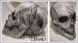 Skull mask Distressed by UnboundArt