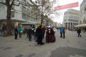 Fursuitwalk Hannover 5.4.2014 Part 12 Germany. by ASKABANIUM