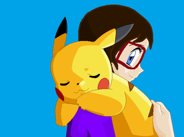 Pet Pikachu by WolfODonnellover