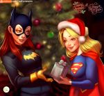 Babs and Kara Christmas Gift (Patreon Commission) by Didi-Esmeralda