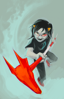hello Terezi by Doodle-Master
