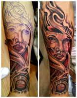 All Star Tattoo and Body Piercing by no3lcas71ll0