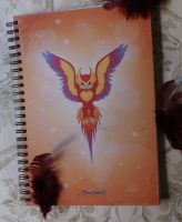 Phoenix Notebook by MySweetQueen