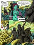 Godzilla: Kings and Brothers, Page #10 by kaijukid