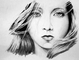 Portrait Drawing 2 by m-o-r-t