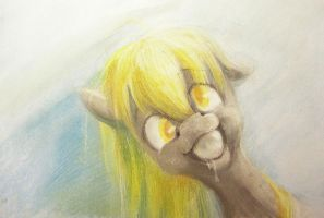 Derpy's bubble by Mao-Ookaneko