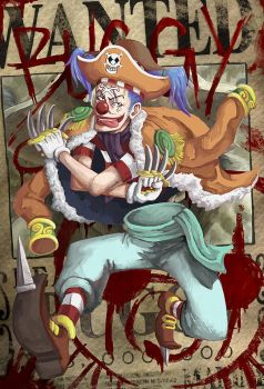 Great Captian Buggy the Clown by Argent-X
