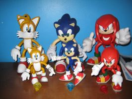 Sonic Toy Island Figures by sonic-fan-guy