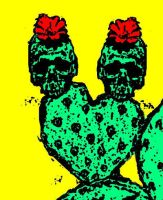 prickly skulls by bert13one12