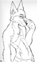 Sexy Fox by arcticfoxie