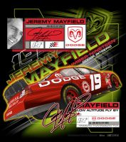 Jeremy Mayfield tshirt by diesel704