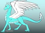 Me As A Wind Dragon by Army-of-Zero