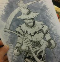 Scarecrow sketch by RyanOttley