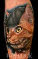 Kitty Cat by LizCookTattoo