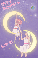 Moon Birthday 2015 by sammywhatammy