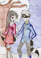 Rose and Connor Cooper on a date by HeavensEngel