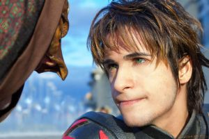 Hiccup Cosplay - HTTYD2 - Confronting Foes by AlexanDrake89