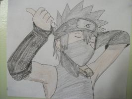 young Kakashi from The Lost Tower by lyrablaze