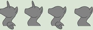 Pony Busts by TheShadowStone