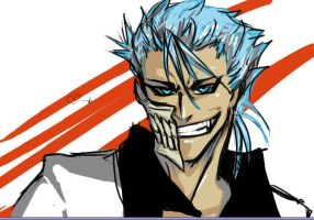 Grimmjow - grin by ars-goetica