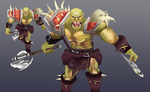 Improved Orc by Lowpoly-Workshop