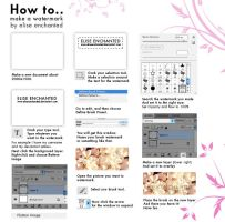 Watermark tutorial by EliseEnchanted