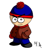 South Park's Stan Marsh by ShadowNinja976