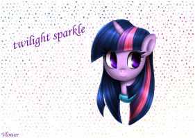 Twilight Sparkle by vlower