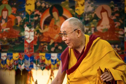 His Holiness the 14th Dalai Lama by NorthBlue
