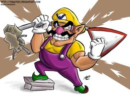 Wario wants whack by Tiquitoc