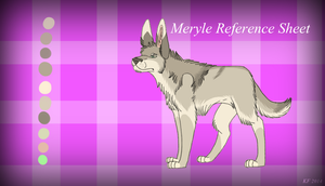Meryle Reference Sheet 2014 by MorningAfterWolf
