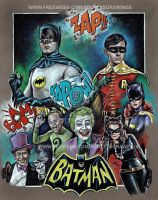 Batman And Robin - 1966 (2014) by scotty309