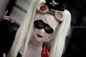 You are gonna regret this - Steampunk Harley Quinn by Thecrystalshoe