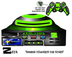 X-Star Zeta (Our Console Design) by spdy4