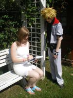 Roxas - Namine photo 2 [2009] by moulinneufbeast