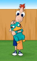 Phineas and Perry by kelly42fox
