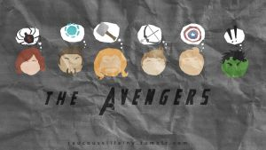 The Avengers 1 by LilClownie